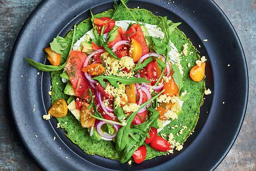 Spinach Pancakes Recipe With Cream Cheese, Avocado & Smoked Salmon: A Tasty, Healthy Chef-Inspired Recipe