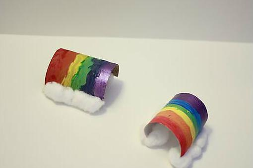 Rainbow Crafts: Kids Will Love Making This Colorful Recycle Project