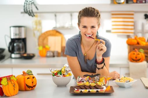 Step Away From the Halloween Candy, Mom! The Healthy Reason Why!