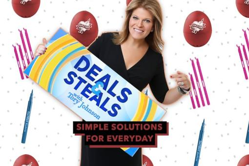 """Strahan and Sara"" Deals and Steals: Save Money on Simple Solutions Every Day!"
