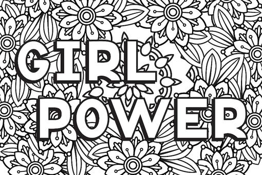 Strong Women Coloring Pages: 10 Printable Coloring Pages for Badass Women Who Are Changing the World