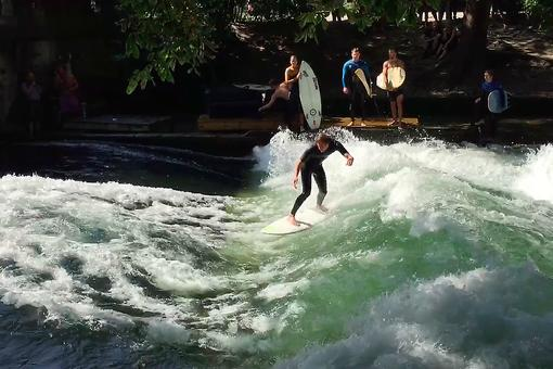 Surfing in the City? You Bet! How to Ride the Waves in Munich, Germany's English Garden!