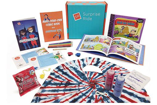 Surprise Ride Subscription Box: Educational Fun for Your Kids!