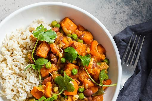 Sweet Potato Curry Recipe: This Easy Curry Recipe Is Vegan, Vegetarian & Ready in About 20 Minutes