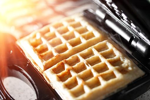 Easy Sweet Potato Waffles Recipe: Cinnamon Sweet Potato Waffles Have That Fall Feeling