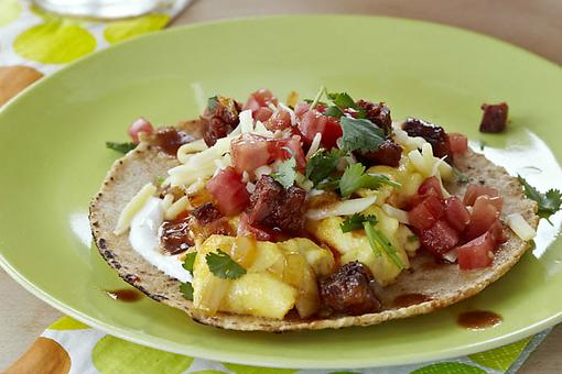 Tacos for Breakfast? Yep! How to Make Chorizo Scrambled Egg Tacos!