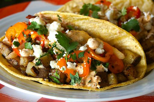 Having a Super Bowl® Party? Try This Award-Winning Potato Tacos Recipe!