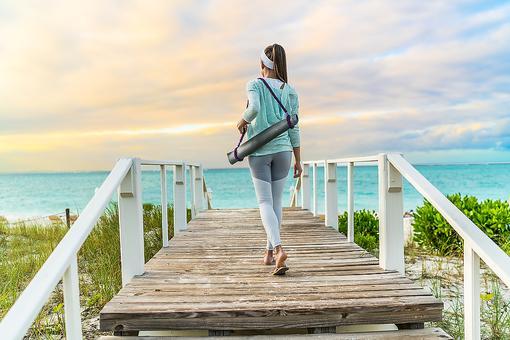 Take a Yoga Walk: Fuse Walking, Yoga & the Outdoors & Reap Mega Health Benefits!