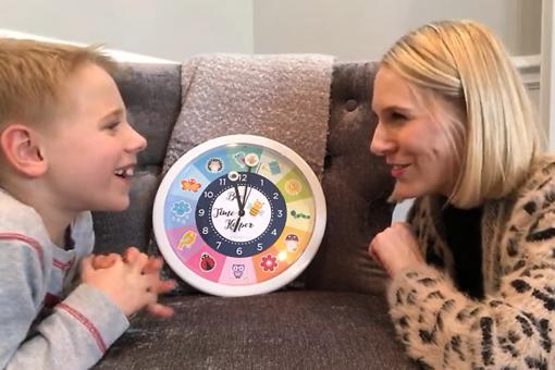 Bee a Time Keeper Clock: Teach Kids How to Tell Time With This Fun and Educational Clock