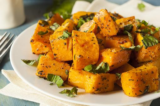 Winter Side Dish: How to Make Roasted Sage Butternut Squash!
