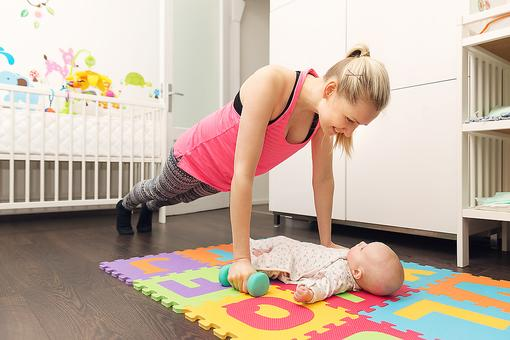 The 30 Workout: A Quick Exercise Plan Designed for Busy Moms (By a Busy Mom)!
