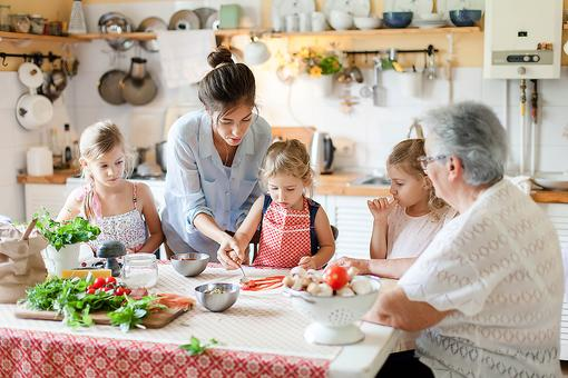Kids in the Kitchen: The Benefits of Including Your Kids in Cooking & Meal Preparation