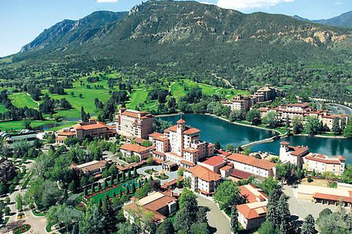 The Broadmoor in Colorado Springs: The West Begins at This Resort on the Threshold of The Rocky Mountains