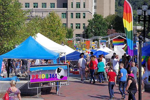 Asheville Acceptance: The North Carolina Community Comes Out to Support Gay Pride