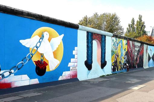 The East Side Gallery: Symbolic Art Commemorating the Fall of the Berlin Wall