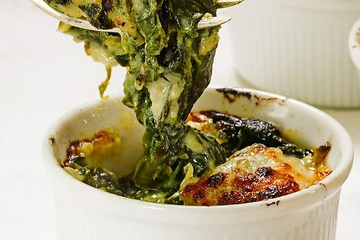 Easy Baked Creamed Spinach Recipe: Shut Your Eyes & You Will Think You're at a Steakhouse