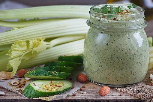 Creative Salad Dressing Recipe: This Creamy Celery & Cucumber Salad Dressing Recipe Is CPR for Boring Salads