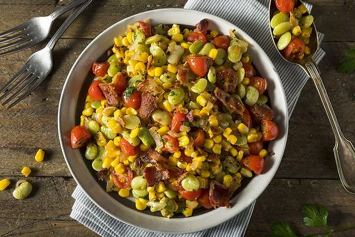 This Easy Lima Bean Succotash Recipe Is a Classic Southern Side Dish Recipe