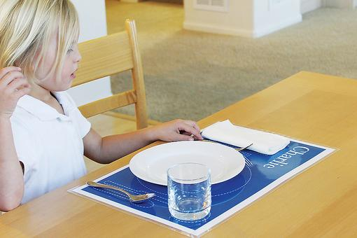 Ways to Build Kid's Independence: This Educational Placemat Turns Mealtime Into Learning Time