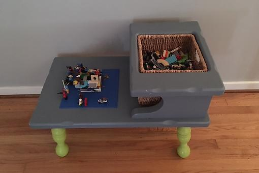 Tired of Stepping on LEGOs? Try This Creative DIY LEGO Storage Solution!