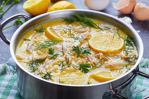 Leftover Turkey Recipes: This Greek Lemon Turkey Soup Puts a Unique Spin on Thanksgiving Leftovers