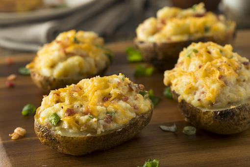 Baked Potatoes Are Good, But Twice-Baked Potatoes Are Even Better!