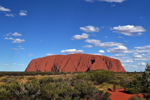 "Uluru Rock: Visit the Iconic ""Red Centre"" & One of the Most Impressive Landmarks in Australia"