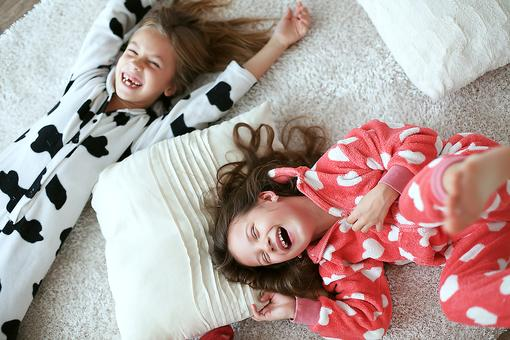 Valentine's Fun With the Kids? Have a Pajama Party!