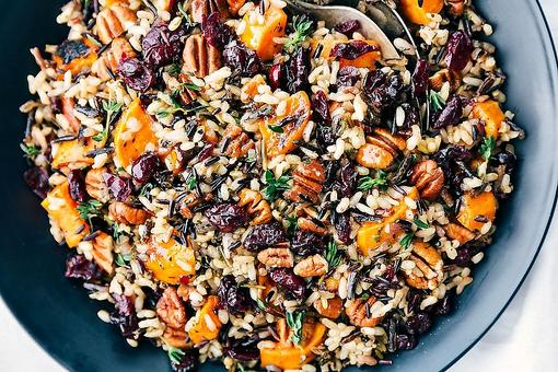 Vegan Thanksgiving Recipes: How to Make Wild Rice & Quinoa Herb Stuffing