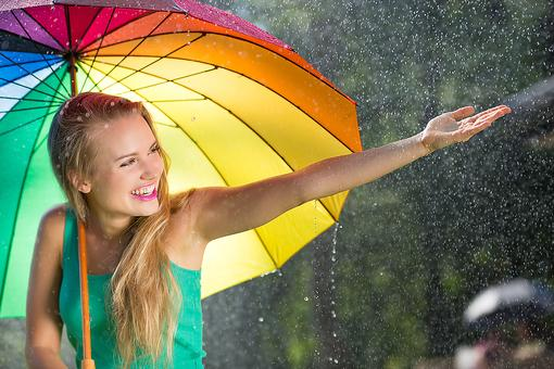 Walking Between the Raindrops: How to Embrace Life's Magical Possibilities