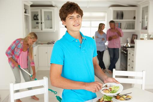 Want the Secret to Get Your Teen to Help Out Around the House? (Hint: It's Something You Probably Gave Your Toddler)