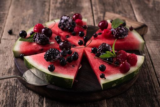 Whoa, It's National Watermelon Day! Celebrate With This Fun & Healthy Watermelon Pizza!