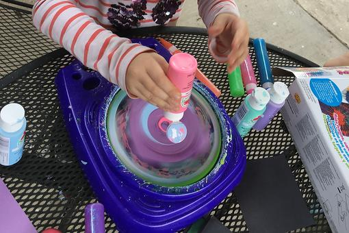 Spin Painting With Kids: Art Spinners Can Provide Hours of Creative Play for Kids & Help Students Reach Out to Their Teachers