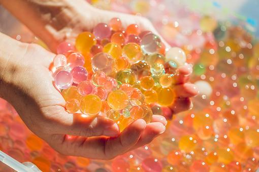 Water Beads: Kids & Parents Enjoy These for Open-Ended Sensory Play & Stress Relief