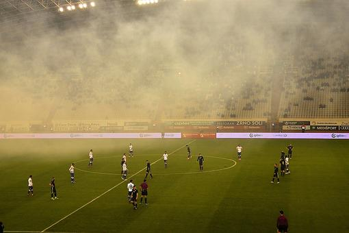 When Sparks Fly at a Soccer Game: Experiencing Professional Football in Croatia