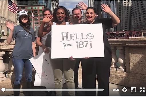 World Entrepreneurs Day: 1871 Chicago Produces Global Salute to Entrepreneurship Video
