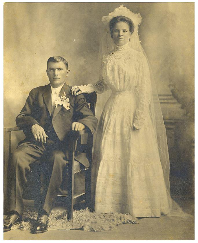 September 5, 1909, Mary and Jake Mafjeski, 30Seconds contributor Donna John's great-grandparents