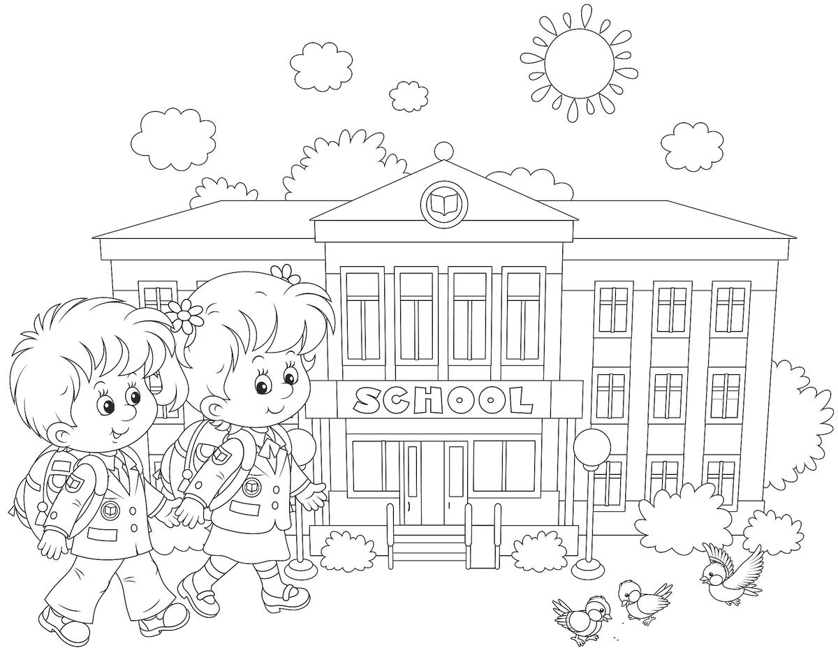 BacktoSchool Coloring Pages