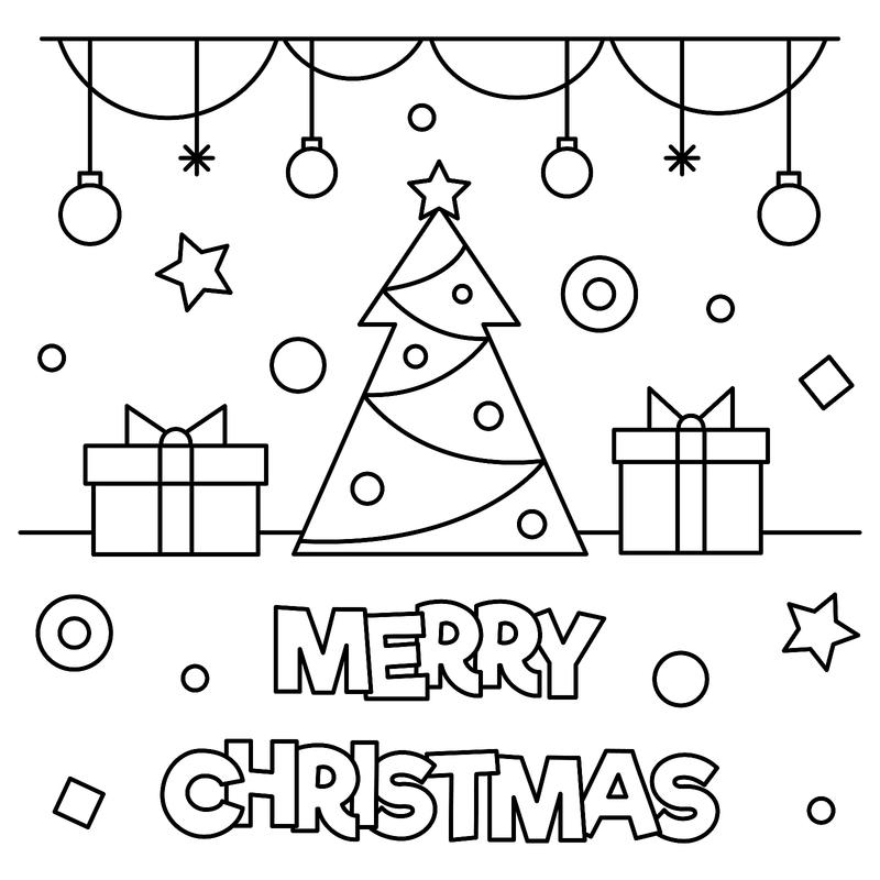 Christmas Coloring Pages 16 Printable Coloring Pages For The
