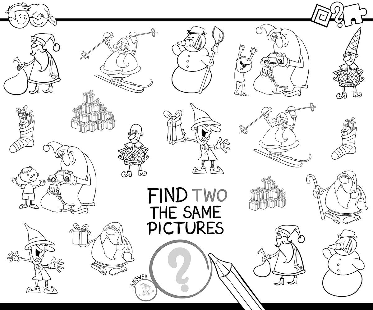 Christmas Coloring Pages: 16 Printable Coloring Pages for the ...