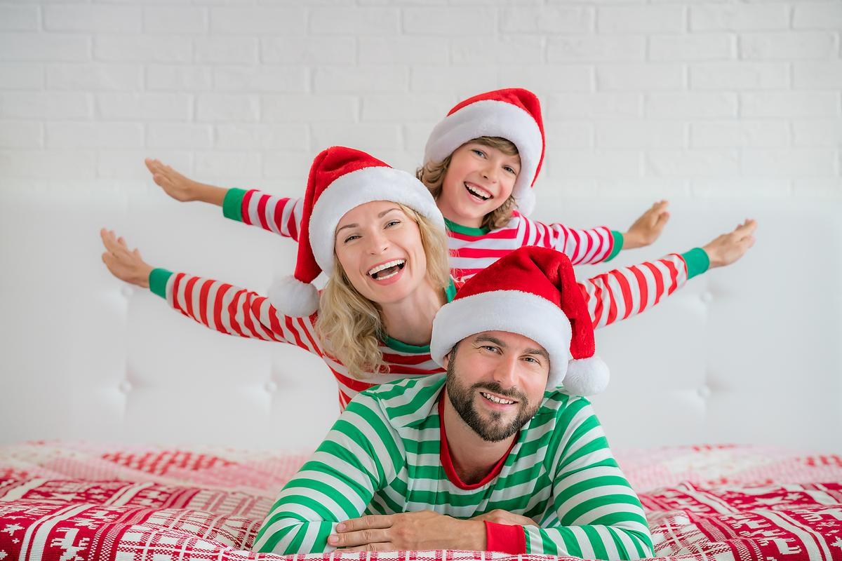 Many Families Have The Tradition Of Giving New Pajamas Every Christmas Why Not Get Them Early And Snap Your Holiday Photo In