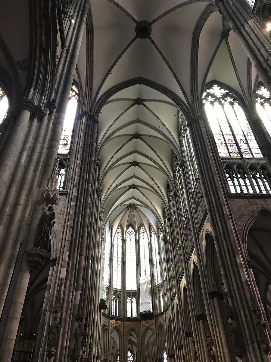 and it only took 300 years to build although badly damaged because of bombing during world war ii the cathedral and even its beautiful stained glass - Koln Must See