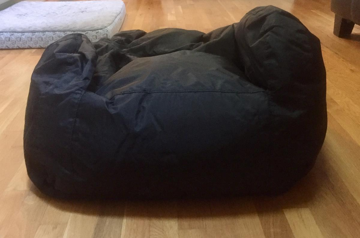 Diy Bean Bag Chairs How To Refill A Bean Bag Bring It Back To Life In 5 Easy Steps Diy 30seconds Mom