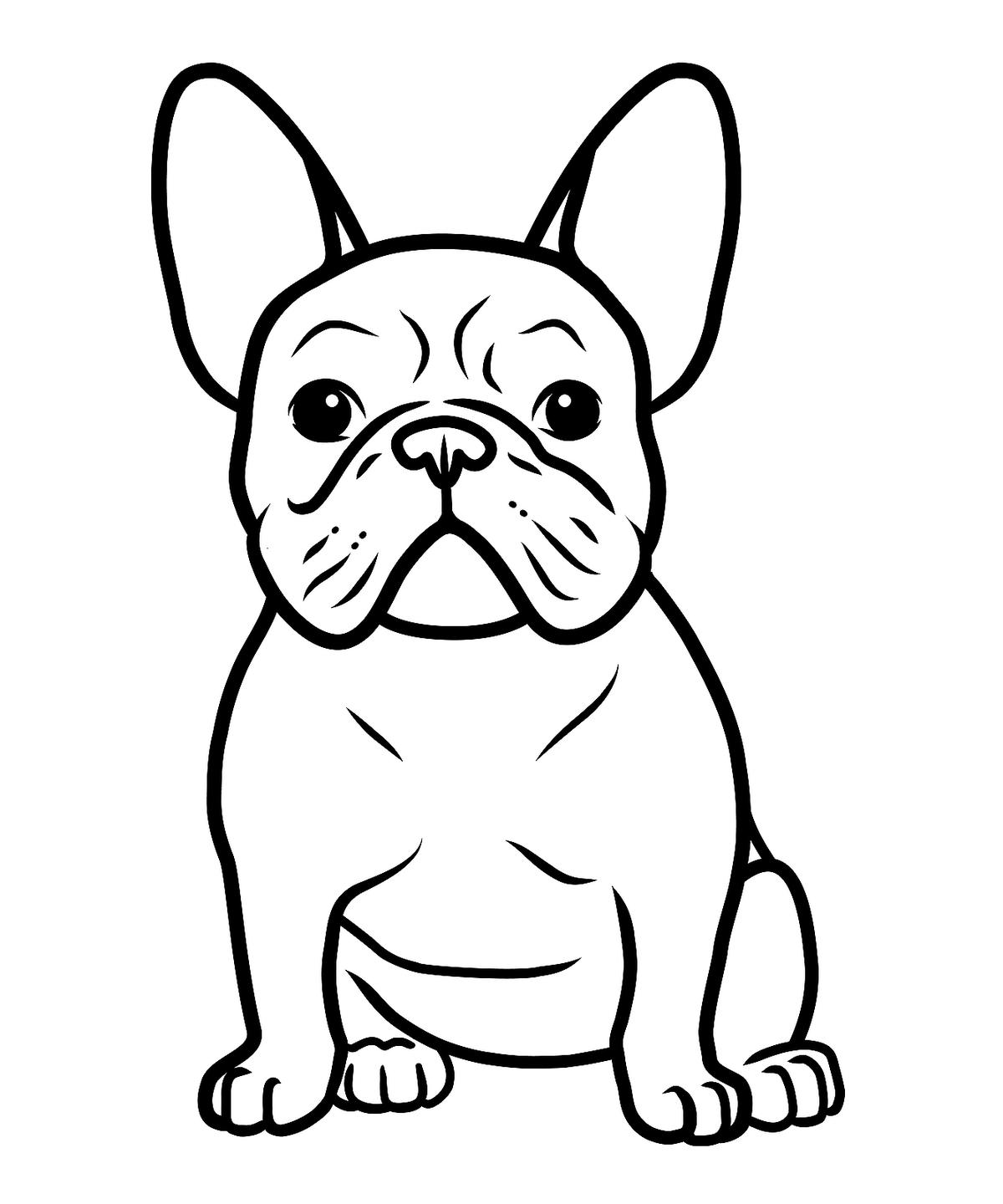 Dog Coloring Pages: Printable Coloring Pages of Dogs for ...