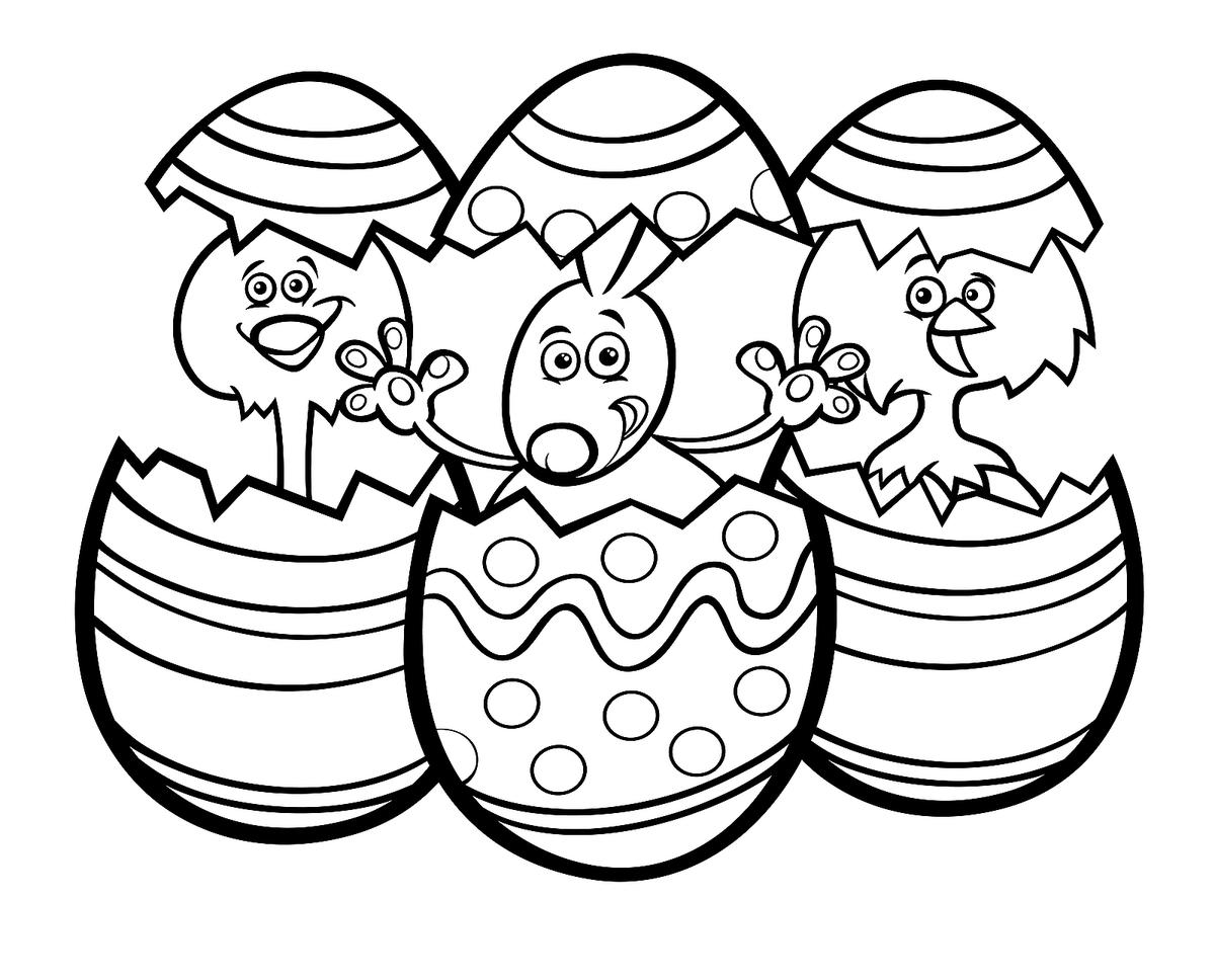 Easter Coloring Pages Fun SpringThemed Printables for the Family