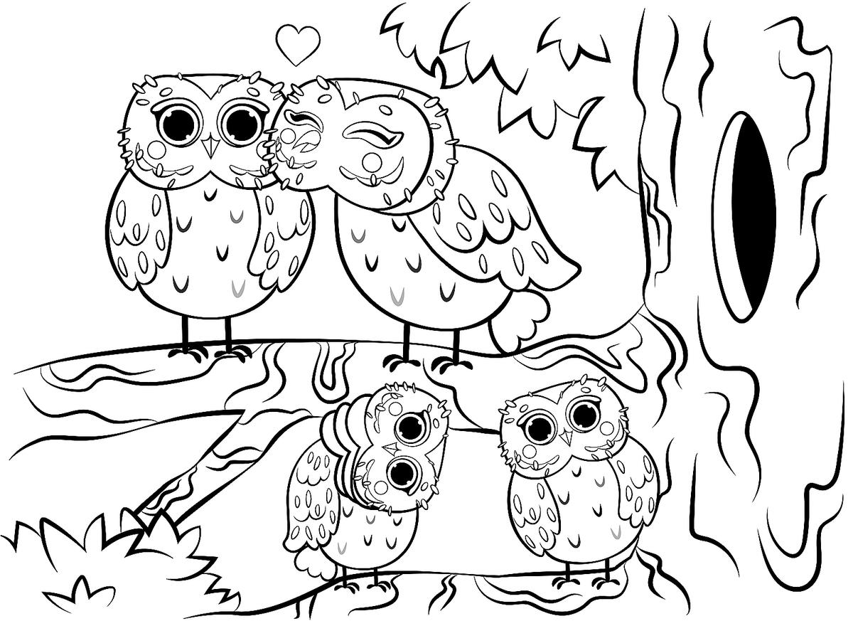 Animal Families Coloring Pages: Free & Fun Printable Coloring Pages of  Animal Families for Everyone | Printables | 30Seconds Mom