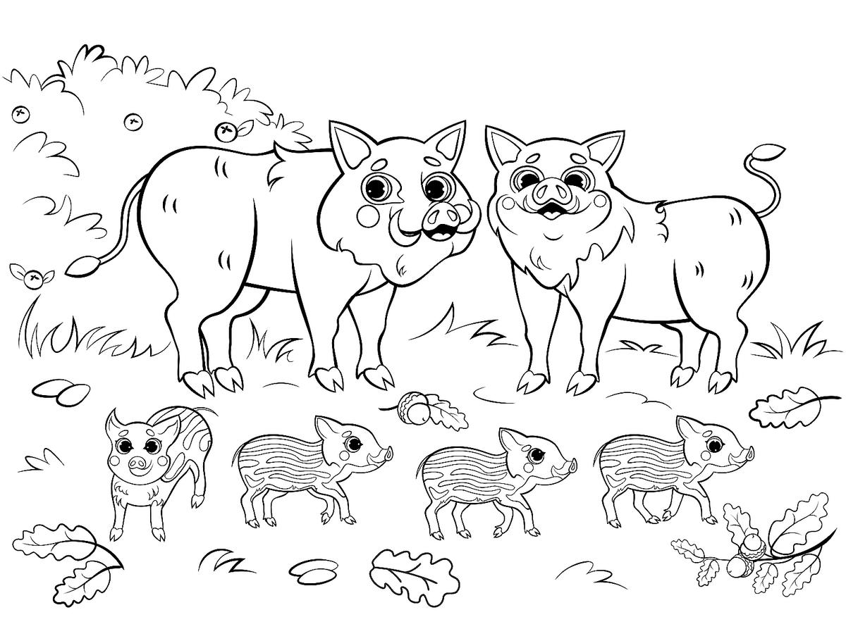 Animal Families Coloring Pages Free Fun Printable Coloring Pages Of Animal Families For Everyone Printables 30seconds Mom