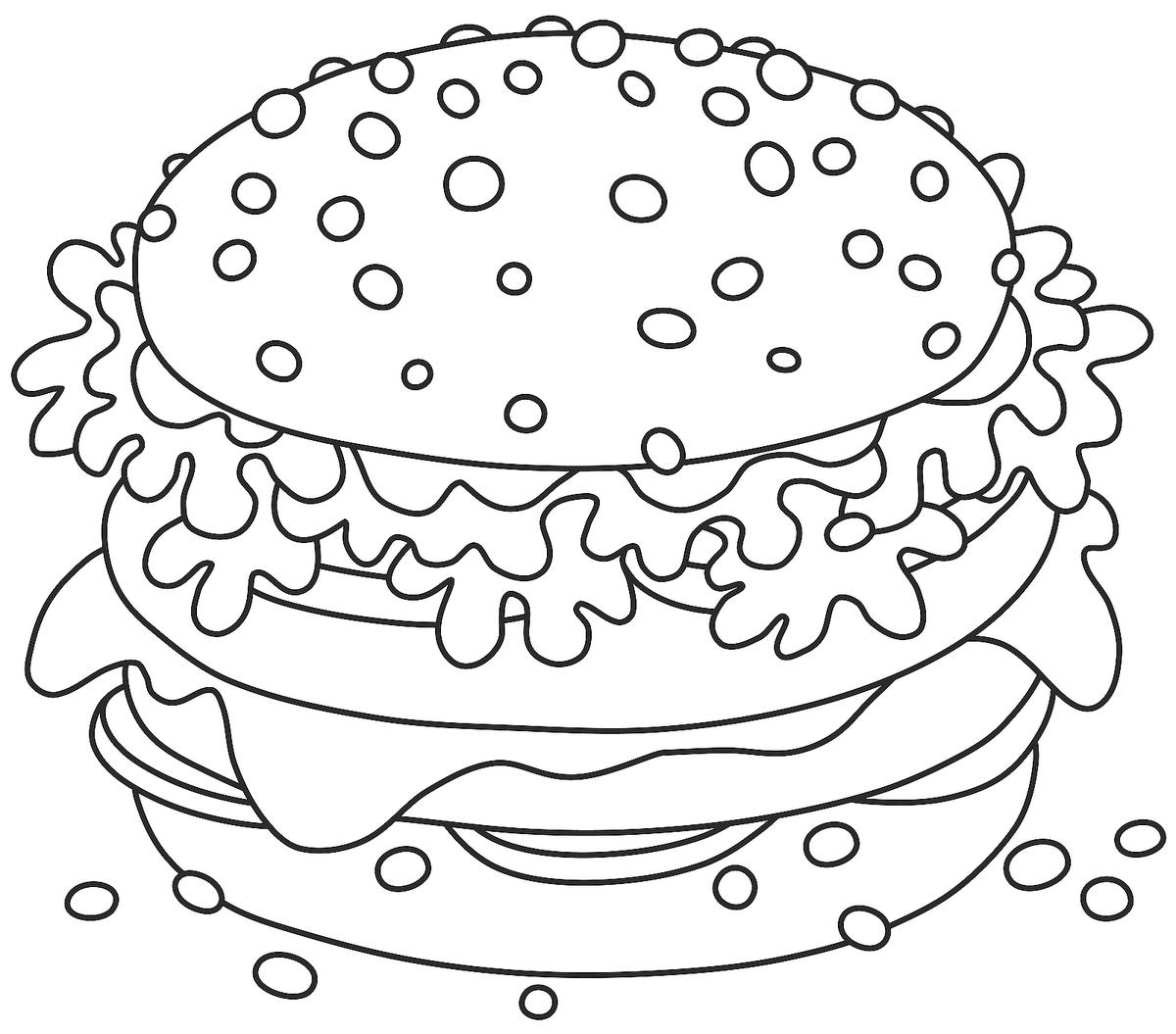 Food Coloring Pages: 20 Free Printable Coloring Pages of ...