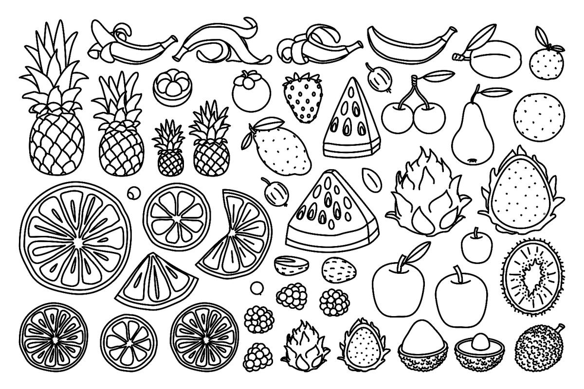 Food Coloring Pages 18 Free Printable Coloring Pages of Food That ...