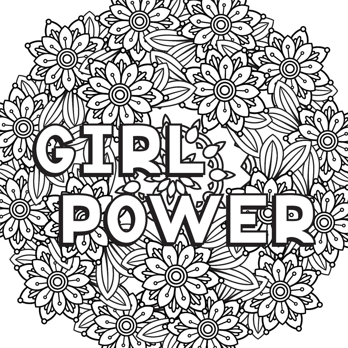 Strong Women Coloring Pages 10 Printable Coloring Pages For Badass Women Who Are Changing The World Printables 30seconds Mom